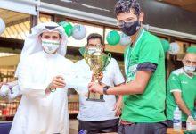 آل عباس متسلما لقب البطولة التصنيفية.